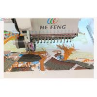"""Compact garment flat bed Single Head Industrial Embroidery machine with 7 """" LCD Manufactures"""
