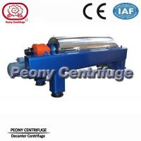 Cheap Water Sludge Decanter Centrifuge Decanter Type With PLC Control for sale