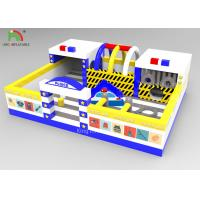 Outdoor Kids Inflatable Amusement Park With Slide 10x8x3.4 M  One  Year Warranty Manufactures