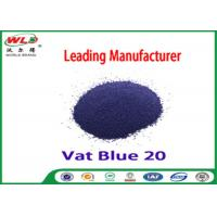 C I Vat Blue 20 Dark Blue Bo Dyeing Of Cotton With Vat Dyes AAA Credit Manufactures