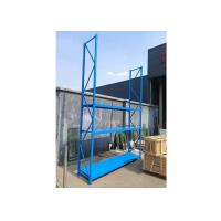 Sturdy Industrial Warehouse Racks , Long Span Metal Racks And Shelves Manufactures