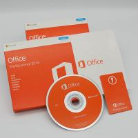 English Version Microsoft Office 2016 Pro 1 User PC Software DVD Retail Box Manufactures