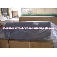 "Quality Crimped Stainless Steel Knitted Mesh Width 30"" / 42 Inch Wear - Resistance For for sale"