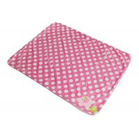 China Christmas Gift Soft Polyester Baby Blanket / Baby Knitted Blanket Pigs Pattern on sale