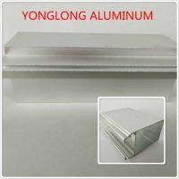 Silver Color Polished Aluminium Alloy Profiles T5 For Window / Door Materials Manufactures