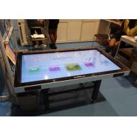 Multitouch Interactive Touch Table For Education / Presentation And Advertising Manufactures