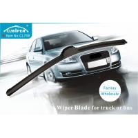 U Hook 12MM  Bus And Truck Wiper Blades With Natural Rubber Refill Manufactures