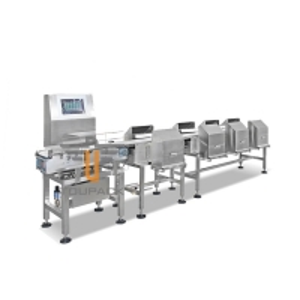 China Food Grade Fruit Grader Conveyor Belt Weight Sorting Machine on sale