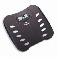 Digital Body Fat and Water Monitor, Equipped with High Precision Strain Gauge Sensor System Manufactures
