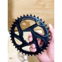 Buy cheap Aluminum CNC Machining Parts 32T 34T 36T 38T Bike Single Chainring for 9 10 11 Speed from wholesalers
