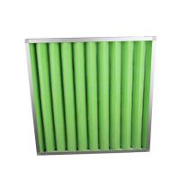 China Low Efficient Air Conditioner Air Filter , Metal Frame G2 G3 G4 Air Filter on sale