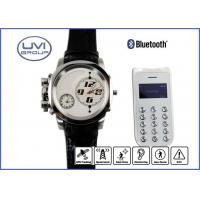 PT202E GSM 850 / 900 / 1800 / 1900Mhz Personal GPS Watch Phone / GPS Wrist Watch Tracker with Swiss Movt Manufactures