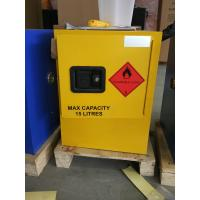 12 GAL Vented Chemical Storage Cabinets With Double Layer For Flammable Goods Manufactures