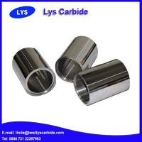 China Hard metal tungsten carbide bushes on sale