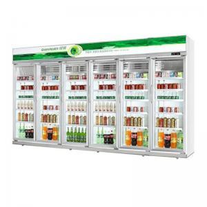 Drinks Display Customized Supermarket Beverge Glass Door Refrigeration Equipment Manufactures