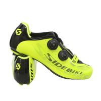 Ultralight Sidebike Road Cycling Shoes Bright Color Printed Low Wind Resistance Manufactures