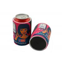 Promotional Custom Printed Insulated 5mm Tickness Neoprene Beer Can Cooler Sleeve Manufactures
