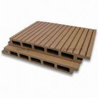 WPC Fire-resistant Plastic Lumber with Wood/Plastic Composite, Suitable for Outdoor Floor Manufactures