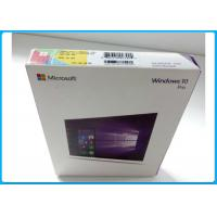 Multi - Language Product OEM Key Microsoft Windows 10 Pro Pack With DVD OEM