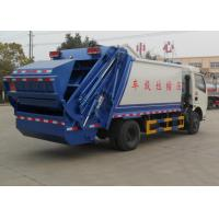 Compact Garbage Collection Truck 6cbm For Non - Toxic Waste Transportation Manufactures