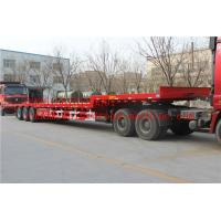 China 2 A X LES EQUIPMENT LOW BED TRAILER  28T Single speed 25TON/35TONS carry  construction machine on sale