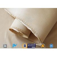 1.3mm Heavy Weight Insulation Fiberglass Fabric 96% SiO2 Content Silica Cloth Manufactures
