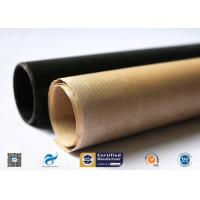 High Temperature Resistant And Anti-Sticking PTFE Coated Fiberglass Fabric Manufactures