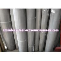 316 / 304 Stainless Steel Wire Mesh , Twill Dutch Weave Wire Mesh For Chemical Industry Manufactures
