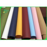Washable and Recycle Colorful Leather Paper Roll For Fruit Storage Bag Manufactures