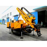 Long Feeding Stroke Crawler Drilling Rig , Full Hydraulic Construction Drilling Equipment