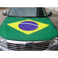 Silk Screen Printing Car Hood Covers Two Layers With Lightproof Lining Manufactures
