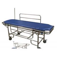 Stainless Steel Frame Patient Transfer Stretcher With Removable Bed Top Board Manufactures