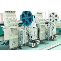 High Speed Cording + Sequin T shirt / Cloth Multi Head Embroidery Machine Manufactures