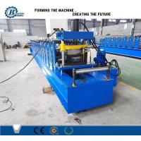 China Keel Steel Profile Stud And Track Roll Forming Machine With Hydraulic Cutting on sale