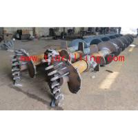 triple-axis flight auger for soil mix wall Manufactures