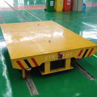 Electric operated battery operated transfer carts for shipyard plant Manufactures