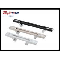 China Hollow  Kitchen Cabinet Handles 160mm  Aluminum  Assembly T Bar Simple Modern Pulls on sale