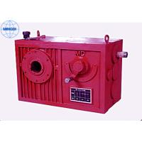 Cylindrical Worm Gear Reducer / Single Or Two Stage Reduction Gearbox Manufactures