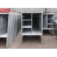 """High Strength 3' × 6'4"""" A Frame Scaffold Structural Steel Tubing ISO / SGS Approved"""
