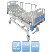 Three Functions Pediatric Manual Hospital Bed CE certificate Aluminum Alloy Side Rails Manufactures