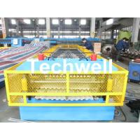 Steel Silo Wall Sheet Corrugated Roll Forming Machine for Silo Side Panel Manufactures