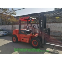7 Ton Diesel Combustion Forklift Truck With 83 Kw Engine Manufactures