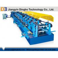 Color Steel Tile Pre - Cutting Purlin Machine With Worm Gear Box Transmission Manufactures