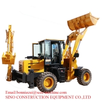 Multifunctional  0.9cbm 1.5 Ton Construction Wheel Loader Manufactures