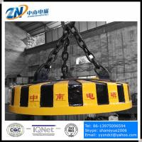 China Circular Magnetic Lifter for Steel Scrap Lifting MW5 on sale