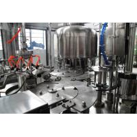 2.2kw Liquid Bottled Pure water, mineral water filling machines systems equipment 8 heads Manufactures