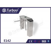 Three Arm Turnstile / Security Entrance Gates With RFID IC Cards Reader Manufactures