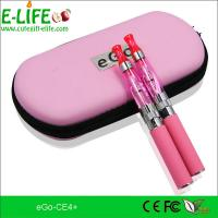 Fashion e cigarette eGo ce4+ starter kits with heat from bottom colorful for choose Manufactures