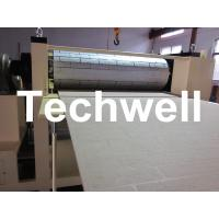 Pattern Carved Depth 0.4 - 0.7mm MDF Panel Embossing Machine With Speed Frequency Control Manufactures