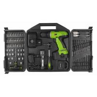 78 Piece Combo 18V DIY Cordless Drill Sets with Blow Plastic Carrier / Drills Bits / Sockets Manufactures